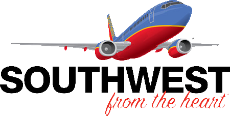Southwest Airlines: From The Heart Logo