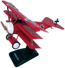 In Air E-Z Build Fokker Dr.1 Model Kit, Item #IN-WWRB