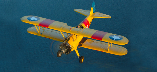 Stearman Biplane Ride